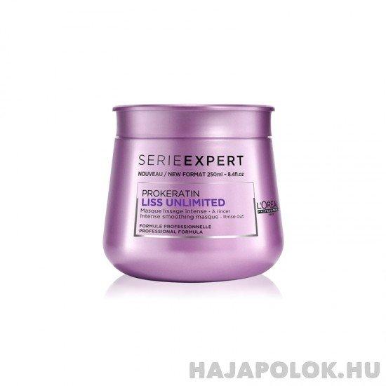 L'Oréal Professionnel Série Expert Liss Unlimited hajmaszk 250 ml