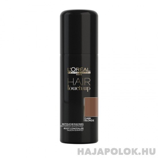 L'Oréal Professionnel Hair Touch up spray - sötét szőke 75 ml