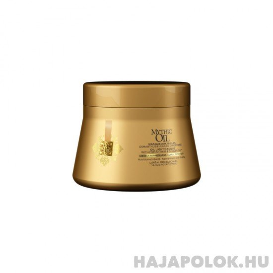 L'Oréal Professionnel Mythic Oil hajmaszk normál és vékonyszálú hajra 200 ml