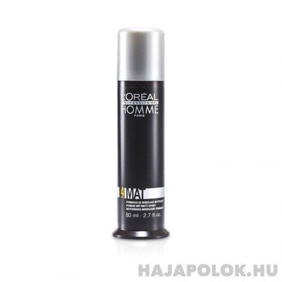 L'Oréal Professionnel Homme Mat hajformázó gél 80 ml