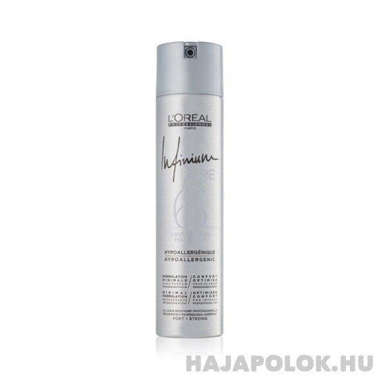 L'Oréal Professionnel Infinium Pure hajlakk erős tartással 300 ml