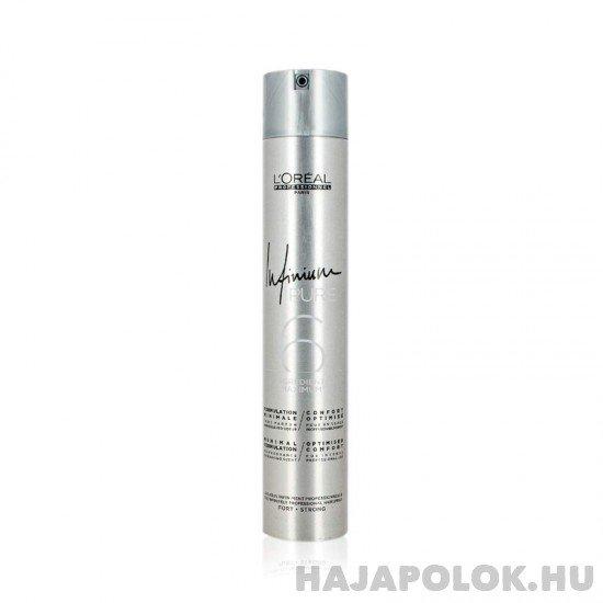 L'Oréal Professionnel Infinium Pure hajlakk erős tartással 500 ml
