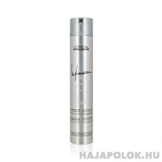 L'Oréal Professionnel Infinium Pure hajlakk extra erős tartással 500 ml