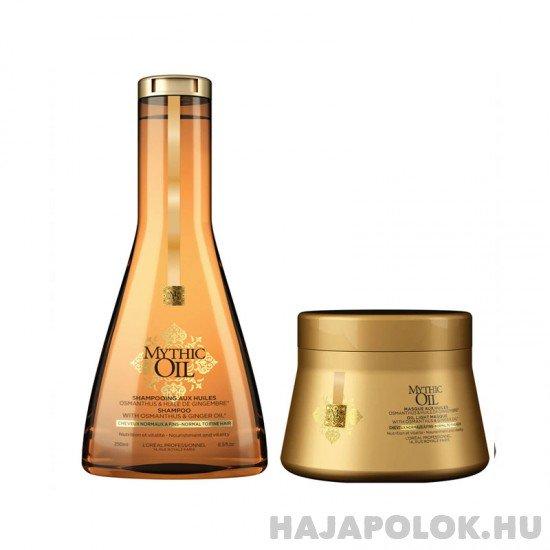 L'Oréal Professionnel Mythic Oil sampon+hajmaszk csomag vékonyszálú hajra