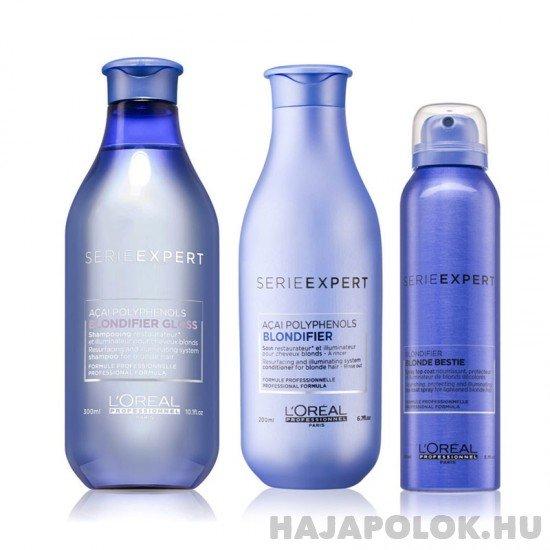 L'Oréal Professionnel Serie Expert Blondifier három darabos csomag