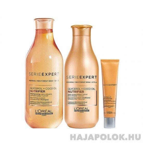 L'Oréal Professionnel Serie Expert Nutrifier három darabos csomag