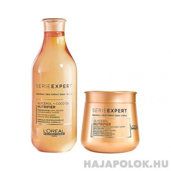 L'Oréal Professionnel Serie Expert Nutrifier sampon+hajmaszk csomag