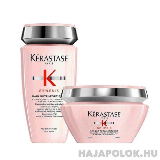 Kérastase Genesis sampon+hajmaszk csomag száraz hajra