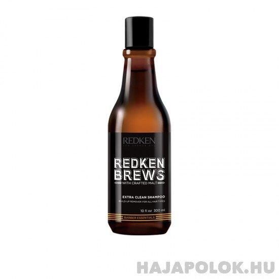 Redken Brews Extra Clean mélyen tisztító sampon férfiaknak 300 ml