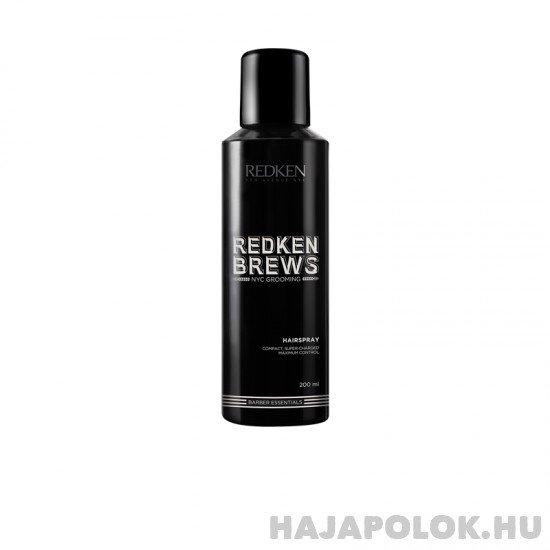 Redken Brews Hairspray hajlakk férfiaknak 200 ml