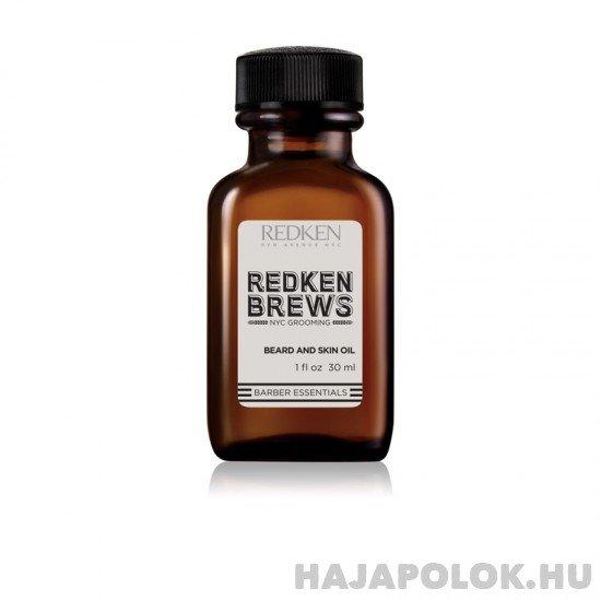Redken Brews Beard and Skin Oil olaj szakállra és bajuszra 30 ml