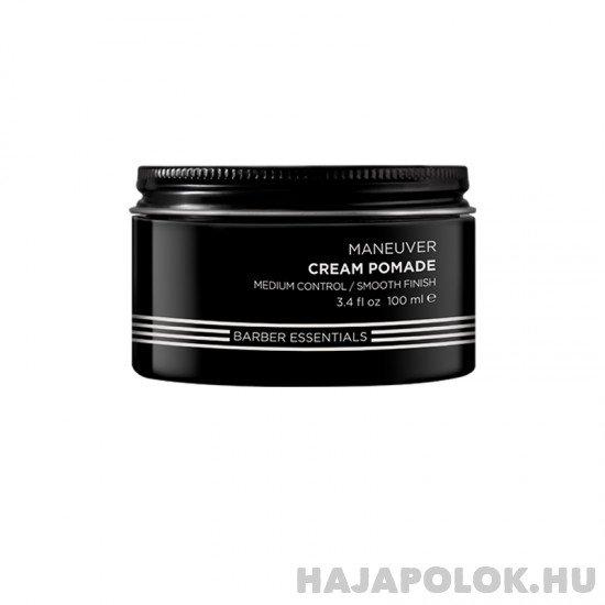 Redken Brews Maneuver Cream Pomade hajformázó pomádé 100 ml