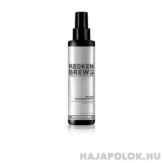 Redken Brews Thickening Spray férfiaknak ritkuló és vékony szálú hajra 125 ml