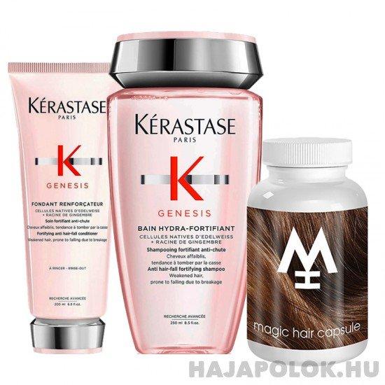 Kérastase Genesis sampon+kondícionáló és Magic Hair hajvitamin csomag