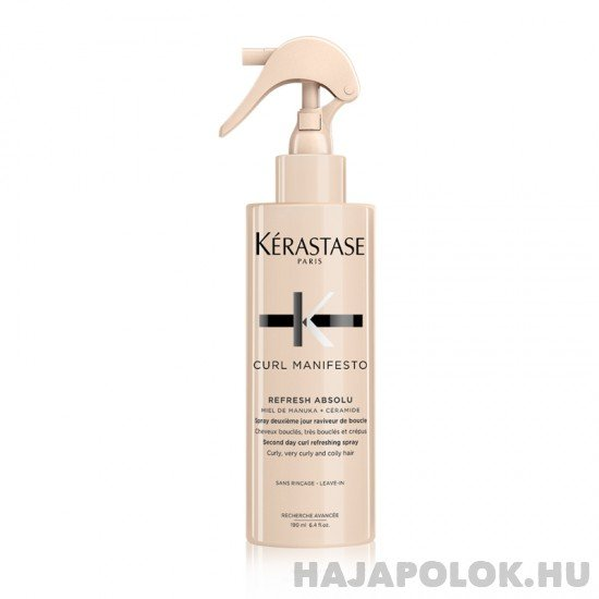 Kérastase Curl Manifesto Refresh Absolu frissítő ápoló spray 190 ml