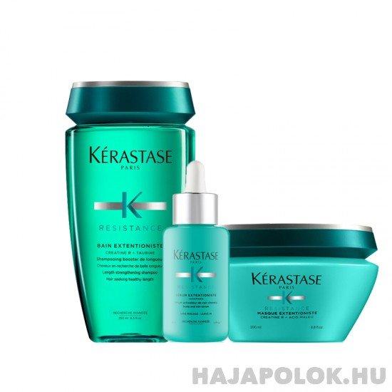 Kérastase Résistance Extentioniste három darabos csomag hajmaszkkal és szérummal