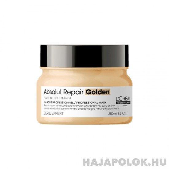 L'Oréal Professionnel Série Expert Absolut Repair Golden hajmaszk normál és vékonyszálú hajra 250 ml