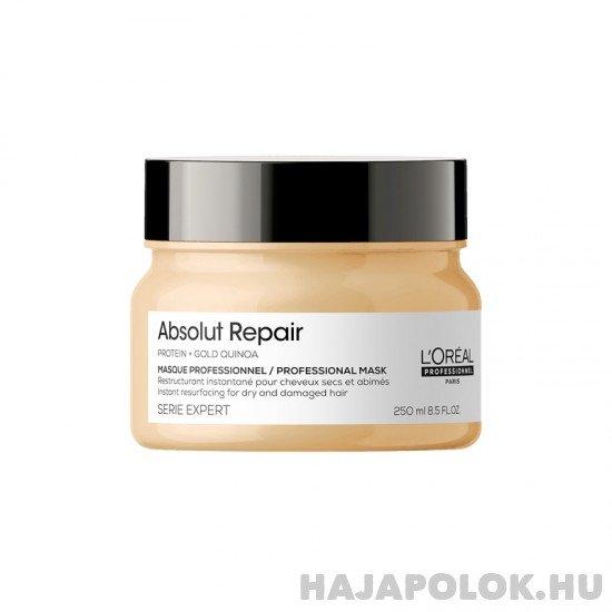 L'Oréal Professionnel Série Expert Absolut Repair Gold Quinoa+Protein hajmaszk vastagszálú hajra 250 ml