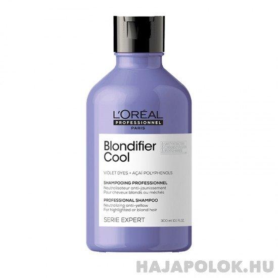 L'Oréal Professionnel Serie Expert Blondifier Cool sampon festett vagy világosított szőke hajra 300 ml