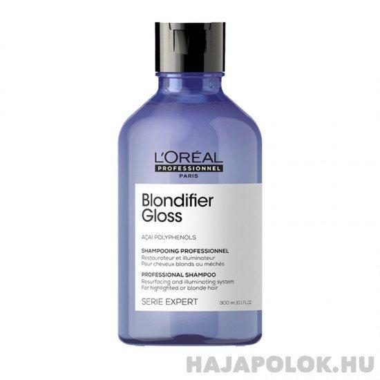 L'Oréal Professionnel Serie Expert Blondifier Gloss sampon szőke hajra 300 ml
