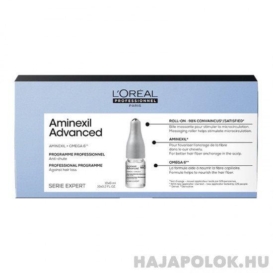 L'Oréal Professionnel Série Expert Aminexil Advanced hajhullás elleni kezelés 10x6 ml