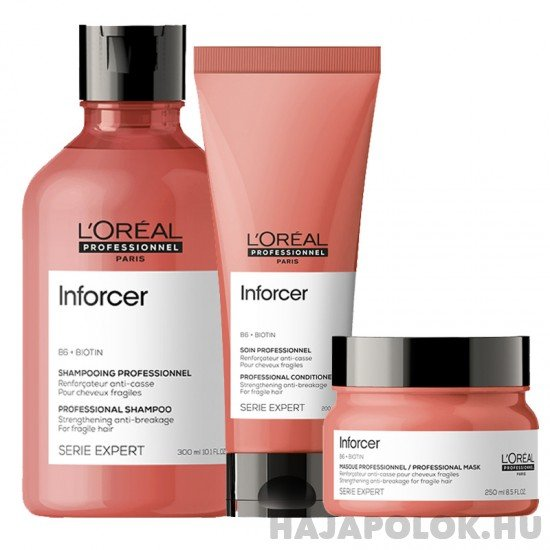 L'Oréal Professionnel Série Expert Inforcer három darabos csomag