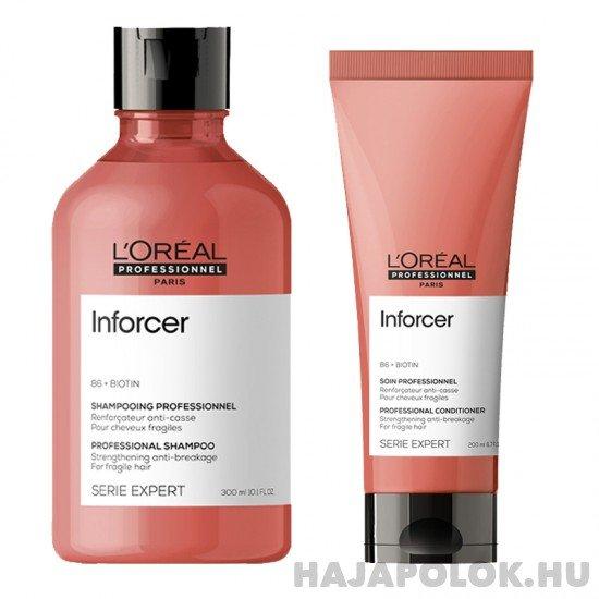 L'Oréal Professionnel Série Expert Inforcer sampon+kondicionáló csomag