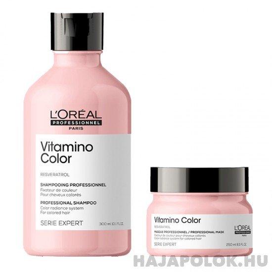 L'Oréal Professionnel Série Expert Vitamino Color Resveratrol sampon+hajmaszk csomag