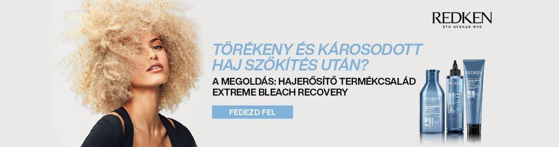 Extreme Bleach Recovery - Azonnal egészségesebbnek tűnő haj